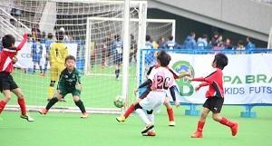 TOKYOスポーツチャレンジ コパブラジルキッズフットサル