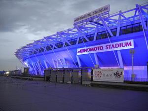 東日本大震災風化防止・復興応援 ライトアップ